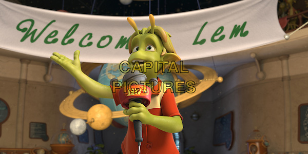 "SCENE - ""Lem"" voiced by Justin Long.in Planet 51 .*Filmstill - Editorial Use Only*.CAP/FB.Supplied by Capital Pictures."