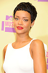 LOS ANGELES, CA - SEPTEMBER 06: Rihanna  arrives at the 2012 MTV Video Music Awards at Staples Center on September 6, 2012 in Los Angeles, California.