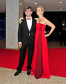 George Stephanopoulos and Alexandra Wentworth arrive for the 2013 White House Correspondents Association Annual Dinner at the Washington Hilton Hotel on Saturday, April 27, 2013..Credit: Ron Sachs / CNP.(RESTRICTION: NO New York or New Jersey Newspapers or newspapers within a 75 mile radius of New York City)