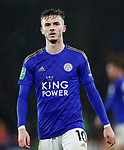 James Maddison of Leicester City during the Carabao Cup match at the King Power Stadium, Leicester. Picture date: 8th January 2020. Picture credit should read: Darren Staples/Sportimage
