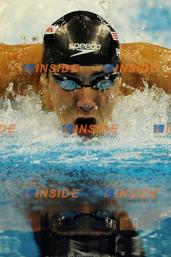 Michael PHELPS Usa gold medal.Men's 100m Butterfly Swimming Nuoto.Shanghai 30/7/2011 .14th FINA World Championships.Foto Andrea Staccioli Insidefoto