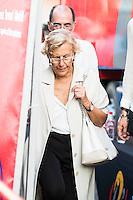 Madrid Mayor, Manuela Carmena during La Vuelta a España 2016 in Madrid. September 11, Spain. 2016. (ALTERPHOTOS/BorjaB.Hojas) NORTEPHOTO.COM