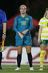 04 September 2015: Oregon's Lauren Holden. The North Carolina State University Wolfpack hosted the Oregon University Ducks at Dail Soccer Field in Raleigh, NC in a 2015 NCAA Division I Women's Soccer game. NC State won the game 2-0.