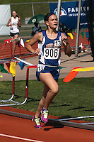 Scott City's Bella Bowers runs to a 12th place finish in the Class 2 Girls 800-meters in 2:29.64.
