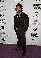 LOS ANGELES, CA - NOVEMBER 8: Miguel at the Eva Longoria Foundation Dinner Gala honoring Zoe Saldana and Gina Rodriguez at The Four Seasons Beverly Hills in Los Angeles, California on November 8, 2018. Credit: Faye Sadou/MediaPunch