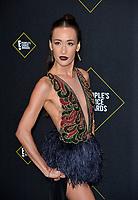 SANTA MONICA, USA. November 11, 2019: Maggie Q at the 2019 E! People's Choice Awards at Santa Monica Barker Hangar.<br /> Picture: Paul Smith/Featureflash