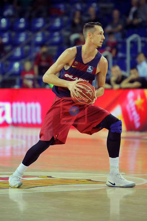 League ACB-ENDESA 2016/2017. Game: 5.<br /> FC Barcelona Lassa vs BEP-Real Betis Energia Plus: 80-58.<br /> Marcus Eriksson.