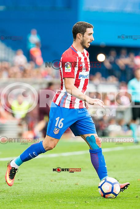 Atletico de Madrid's player Sime Vrsaljko during a match of La Liga Santander at Vicente Calderon Stadium in Madrid. September 17, Spain. 2016. (ALTERPHOTOS/BorjaB.Hojas) /NORTEPHOTO