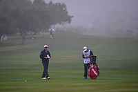 Padraig Harrington (IRL) looks over his approach shot on 18 during day 3 of the Valero Texas Open, at the TPC San Antonio Oaks Course, San Antonio, Texas, USA. 4/6/2019.<br /> Picture: Golffile | Ken Murray<br /> <br /> <br /> All photo usage must carry mandatory copyright credit (&copy; Golffile | Ken Murray)
