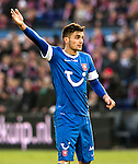 Nederland, Rotterdam, 27 januari  2013.Eredivisie.Seizoen 2012/2013.Feyenoord-FC Twente.Dusan Tadic van FC Twente in actie