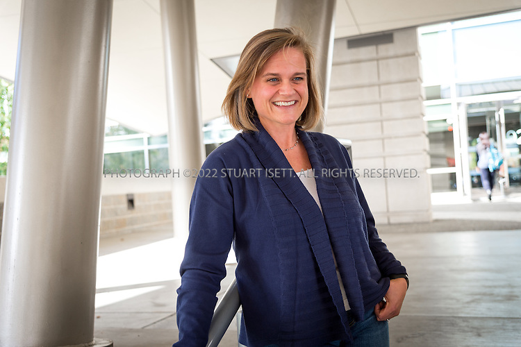 10/26/2016-- Redmond, WA, USA<br /> <br /> Pam Hembrow, Retirement Benefits Manager at Microsoft<br /> <br /> Posing on Microsoft&rsquo;s campus in Redmond, Washington.<br /> <br /> Photograph by Stuart Isett. &copy;2016 Stuart Isett. All rights reserved.