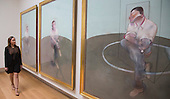 Pictured: Three Studies for a Portrait of John Edwards by Francis Bacon, 1984. Estimate in the region of US-$ 80m. Christie's Post-War and Contemporary Art department present the most important exhibition tour of Evening Sale highlights to date. More than thirty major works will be on view from 11 to 17 April at Christie's King Street before being offered at auction in New York on 12-13 May 2014.