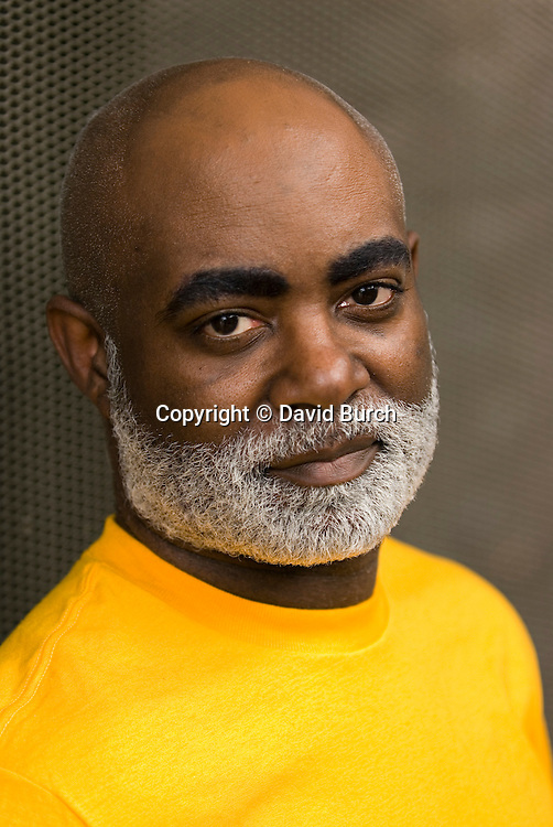 African American man, serious,  portrait