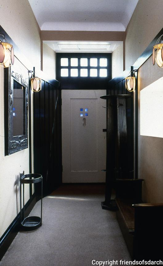 The Mackintosh House: Hunterian Art Gallery, U. of Glasgow.