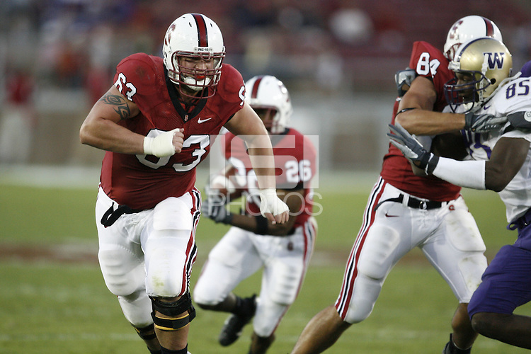 3 November 2007: Chris Marinelli during Stanford's 27-9 loss to Washington at Stanford Stadium in Stanford, CA.