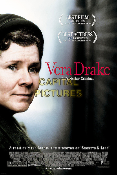 POSTER ART.in Vera Drake.*Editorial Use Only*.www.capitalpictures.com.sales@capitalpictures.com.Supplied by Capital Pictures.
