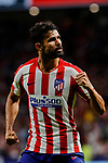 Diego Costa of Atletico de Madrid celebrates the victory  during La Liga match between Atletico de Madrid and SD Eibar at Wanda Metropolitano Stadium in Madrid, Spain.September 01, 2019. (ALTERPHOTOS/A. Perez Meca)