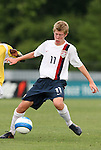 27 June 2008: The United States' Scott Thompsen. The United States 2009 Under-17 Men's National Team lost to the Bridge FC U16s 1-3 at McPherson Stadium at Bryan Soccer Park in Brown's Summit, NC as part of the U.S. Soccer Federation Development Academy Summer Showcase which is part of the 2007-2008 regular season.