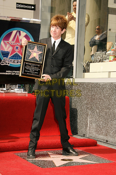 RODNEY BINGENHEIMER.Rodney Bingenheimer Ceremony for the 2,330th Star On The Hollywood Walk Of Fame, Hollywood, California, USA,.09 March 2007..full length black suit frame.CAP/ADM/RE.©Russ Elliot/AdMedia/Capital Pictures.