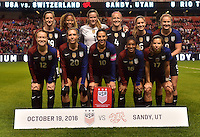 USWNT vs Switzerland, October 19, 2016