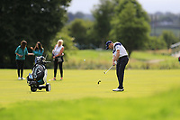 Stuart Manley (WAL) plays his 2nd shot on the 15th hole during Sunday's Final Round of the Northern Ireland Open 2018 presented by Modest Golf held at Galgorm Castle Golf Club, Ballymena, Northern Ireland. 19th August 2018.<br /> Picture: Eoin Clarke | Golffile<br /> <br /> <br /> All photos usage must carry mandatory copyright credit (&copy; Golffile | Eoin Clarke)