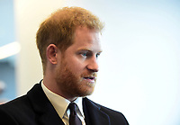 10 February 201 - London - UK - Prince Harry Duke of Sussex at the Guinness Six Nations rugby match between England and France at Twickenham Stadium. Photo Credit: ALPR/AdMedia