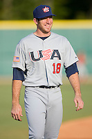 Ike Davis #18 of Team USA at the USA Baseball National Training Center, September 4, 2009 in Cary, North Carolina.  (Photo by Brian Westerholt / Four Seam Images)