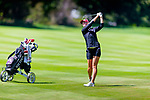 New Mexico State women's golf team competes on Day 2 in the NCAA regional at Tumble Creek Club at Suncadia in Cle Elum, Wash. on  May 7, 2019. (Photography by Scott Eklund/Red Box Pictures)