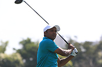 S.S.P Chawrasia (IND) in action on the 6th during Round 1 of the Hero Indian Open at the DLF Golf and Country Club on Thursday 8th March 2018.<br /> Picture:  Thos Caffrey / www.golffile.ie<br /> <br /> All photo usage must carry mandatory copyright credit (&copy; Golffile | Thos Caffrey)