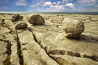 Karst landscape. The Burren, County Clare. Ireland