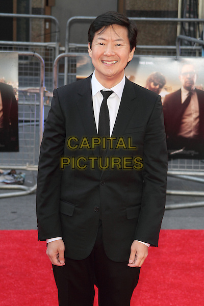 "Ken Jeong.The European Premiere of ""The Hangover Part 3"", Empire Leicester Square, London, England..22nd May 2013.half length black suit tie white shirt  .CAP/ROS.©Steve Ross/Capital Pictures.."