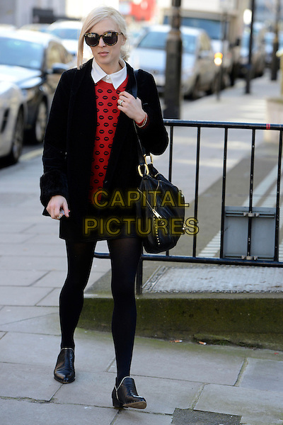 LONDON, ENGLAND - MARCH 07: Fearne Cotton leaving BBC Radio 1 on March 7th, 2014 in London , England.<br /> CAP/IA<br /> &copy;Ian Allis/Capital Pictures