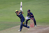 Andrew Salter hits out for Glamorgan during Glamorgan vs Essex Eagles, Vitality Blast T20 Cricket at the Sophia Gardens Cardiff on 7th August 2018