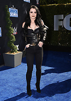 """LOS ANGELES - OCTOBER 4: Saraya-Jade Bevis attends the kick-off event for the """"WWE Friday Night Smackdown on FOX"""" at Staples Center on October 4, 2019 in Los Angeles, California. (Photo by Frank Micelotta/Fox Sports/PictureGroup)"""