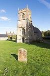 Church of Saint Katherine and Saint Peter, Winterbourne Bassett,  Wiltshire, England, UK