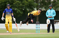 Hamish Bennett bowls during the Wellington Firebirds v Otago Volts, Ford Trophy One Day match round five at Bert Sutcliffe Oval in Lincoln, New Zealand on Friday, 29 November 2019. Photo: Martin Hunter / lintottphoto.co.nz