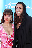 Diana DeGarmo and Ace Young at Fox's 'American Idol 2012' Finale Results Show at Nokia Theatre L.A. Live on May 23, 2012 in Los Angeles, California. © mpi27/MediaPunch Inc.