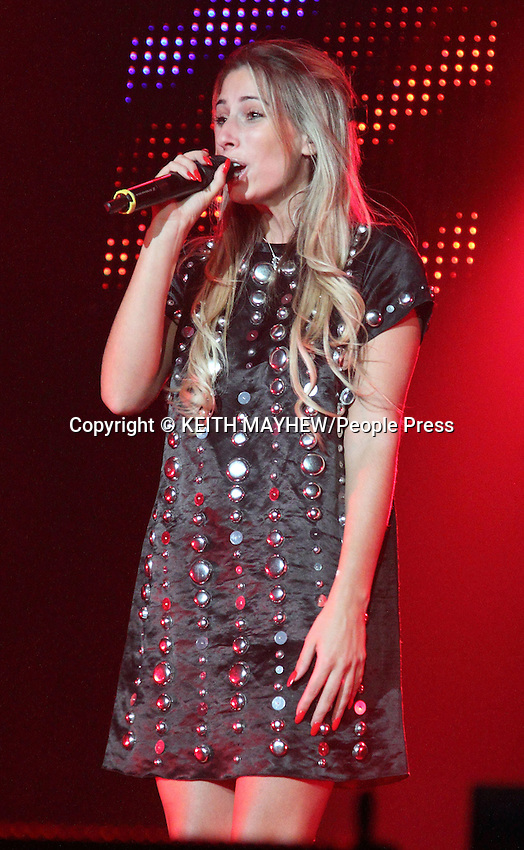 Stacey Solomon performs at the Girlguiding Big Gig at Wembley Arena, London on October 4th 2014<br /> <br /> Photo by Keith Mayhew
