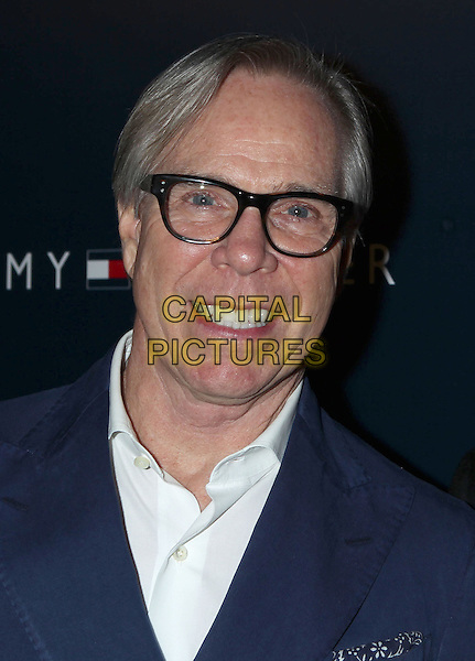 Tommy Hilfiger.Tommy Hilfiger West Coast Flagship Grand Opening Event, West Hollywood, California, USA, .13th February 2013 ..portrait headshot glasses blue jacket smiling white  shirt .CAP/ADM/RE.©Russ Elliot/AdMedia/Capital Pictures.