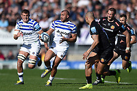 Jonathan Joseph of Bath Rugby in possession. Gallagher Premiership match, between Exeter Chiefs and Bath Rugby on March 24, 2019 at Sandy Park in Exeter, England. Photo by: Patrick Khachfe / Onside Images