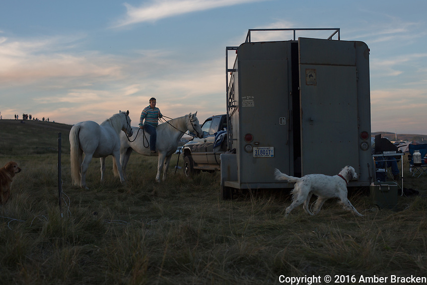 Sacred Stone Camp near Cannonball, ND on Saturday, September 17, 2016.