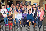 Stephen Brosnan, Deerpark Crescent, Killarney, pictured with family and friends as he celebrated his 21st birthday in Kellys Korner, Killarney on Friday night.......................