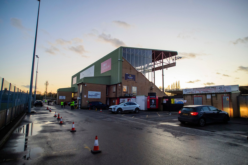 A general view of LNER Stadium, home of Lincoln City<br /> <br /> Photographer Andrew Vaughan/CameraSport<br /> <br /> The EFL Sky Bet League One - Lincoln City v Milton Keynes Dons - Tuesday 11th February 2020 - LNER Stadium - Lincoln<br /> <br /> World Copyright © 2020 CameraSport. All rights reserved. 43 Linden Ave. Countesthorpe. Leicester. England. LE8 5PG - Tel: +44 (0) 116 277 4147 - admin@camerasport.com - www.camerasport.com
