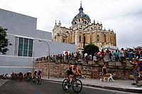 Stefan Zachausen of Luxemburg during the 2017 Madrid ITU Triathlon World Cup in Madrid, May 28, 2017. Spain.. (ALTERPHOTOS/Rodrigo Jimenez) /NortePhoto.com