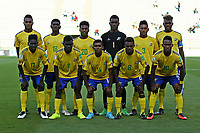 31st October 2019; Bezerrao Stadium, Brasilia, Distrito Federal, Brazil; FIFA U-17 World Cup Brazil 2019, Solomon Islands versus Paraguay; Players of Solomon Islands poses for official photo - Editorial Use