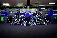 Maverick Vinales , Lin Jarvis, Takahiro Sumi, Maio Meregalli, Valentino Rossi<br /> 05/02/2020 Moto Gp 2020 <br /> Presentazione Yamaha Monster Energy 2020 YZR-M1 <br /> Photo Yamaha Motor Racing Srl / Insidefoto <br /> EDITORIAL USE ONLY