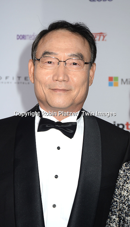 Dr Kim In-Kyu, President of Korean Braodcasting System attends the 40th Annual International Emmy Awards .on November 19, 2012 at The Hilton New York in New York City.