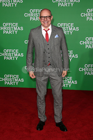 """Westwood, CA - DECEMBER 07: Rob Corddry, At Premiere Of Paramount Pictures' """"Office Christmas Party"""" At Regency Village Theatre, California on December 07, 2016. Credit: Faye Sadou/MediaPunch"""