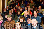 Showing their support for the retention of Glencar Post Office at the meeting in Glencar Community Centre on Friday night.