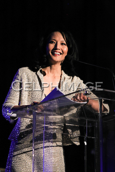TAMLYN TOMITA. Attendees to the 2010 Green Planet Movie Awards gala dinner held at the Westin Bonaventure Hotel in Downtown LA. Los Angeles, CA, USA. March 23, 2010.